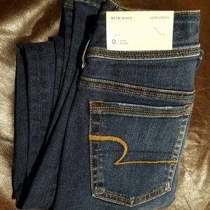 "American Eagle ""Kickboot"" Super Stretch Jeans"